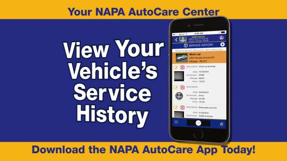 service history napa